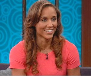 Olympian Lolo Jones appeared on the Wendy Williams show on Monday, and talked about living in Des Moines and attending Roosevelt High School.