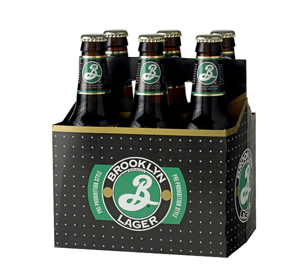 Brooklyn Lager six pack