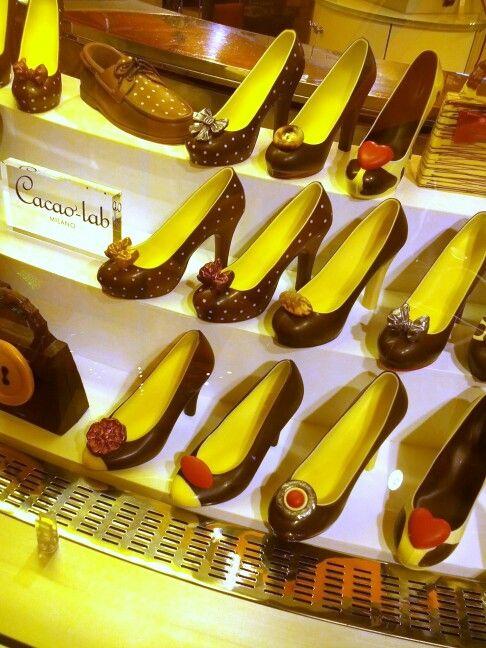 Scarpe di.....cioccolato