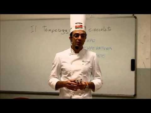 temperaggio del cioccolato - YouTube