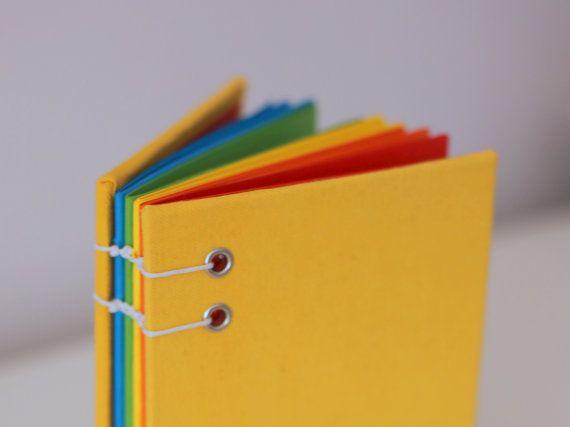 Rainbow Journal Notebook Colored Notebook Sketchbook Multi Color