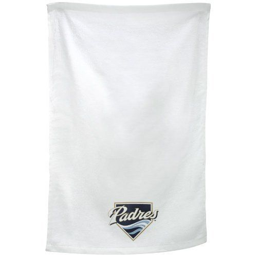 McArthur San Diego Padres 11'' x 18'' Sports Utility Towel - White by McArthur. $6.95. McArthur San Diego Padres 11'' x 18'' Sports Utility Towel - WhiteScreen print graphics100% CottonOfficially licensed Padres towelTerry cloth towelAproximately 11'' x 18''Imported100% CottonTerry cloth towelAproximately 11'' x 18''Screen print graphicsImportedOfficially licensed Padres towel