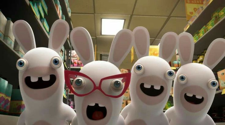 1000 images about rabbids on pinterest fashion weeks poster and my boys - Lapin cretin vampire ...