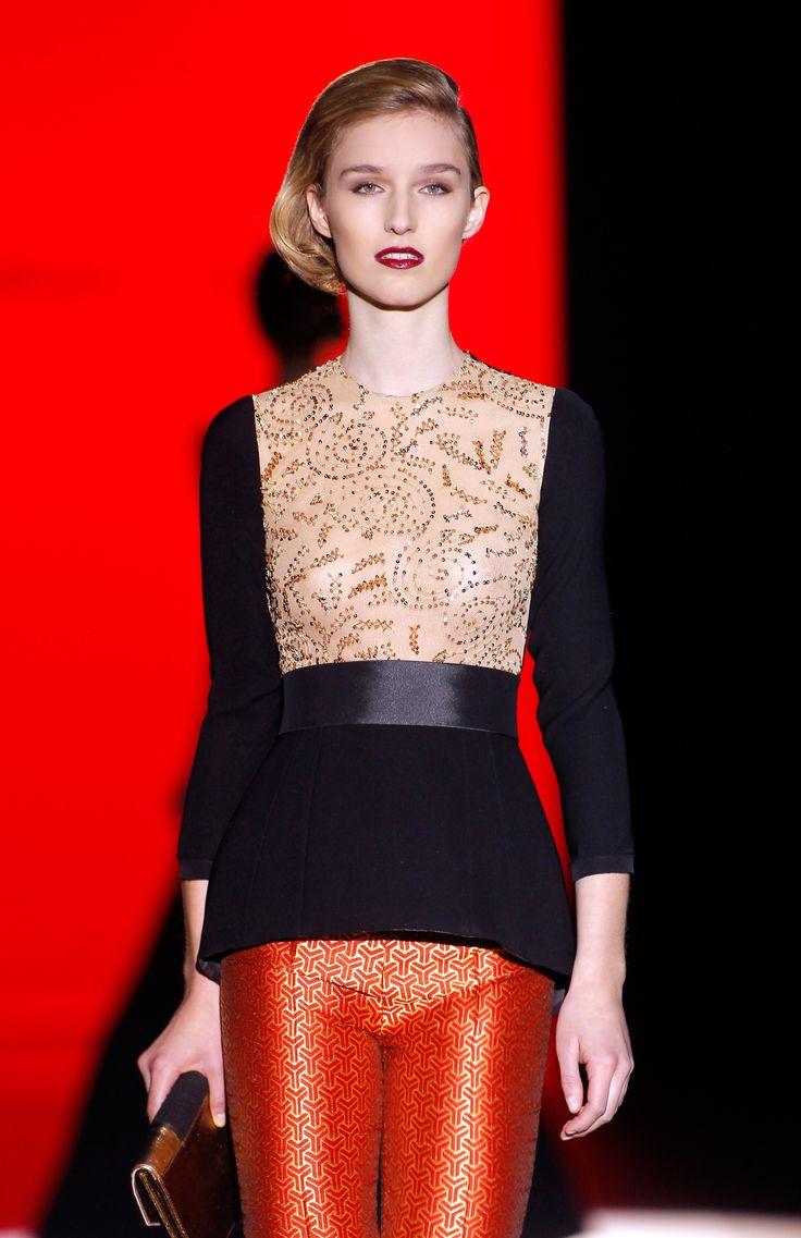 Colección Goldenmille de Hannibal Laguna presentada en Mercedes-Benz Fashion Week Madrid