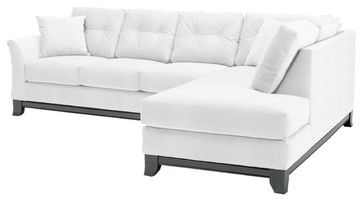 LOVE! Marco 2-Piece Sectional Sofa - transitional - Sectional Sofas - Apt2B