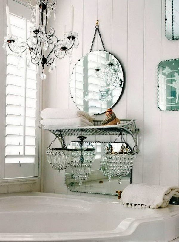 286 best shabby chic bathroom badezimmer images on. Black Bedroom Furniture Sets. Home Design Ideas