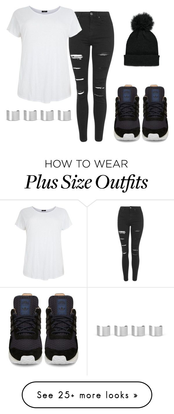 """""""Adidas"""" by kyla-figgs on Polyvore featuring Forever 21, Topshop, adidas and Maison Margiela"""
