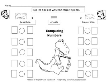 Number Names Worksheets greater than and less than worksheets : 1000+ images about Greater Than/Less Than on Pinterest