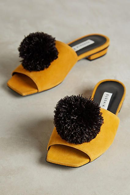 Eugenia Kim Feather-Pom Slides