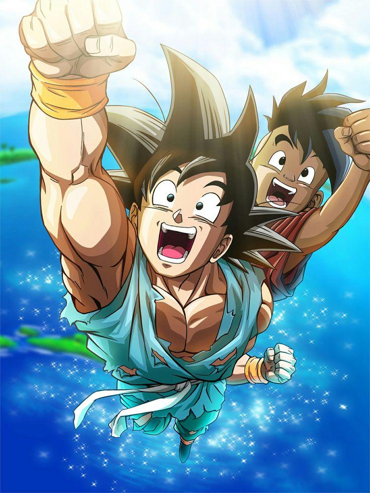 Goku and uub