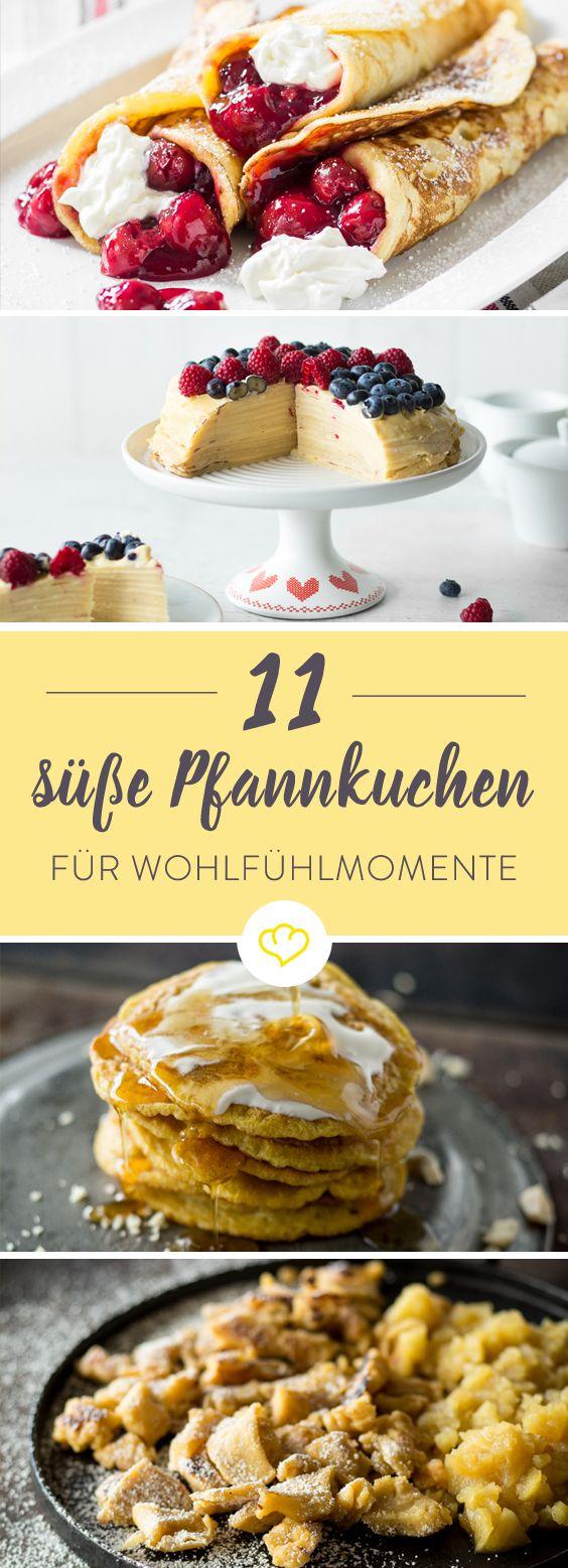 Apfelpfannkuchen ist eine Wucht. Mit Schokolade verfeinert - ein Gedicht. Aber noch besser sind diese 11 süßen Pfannkuchen Rezepte.