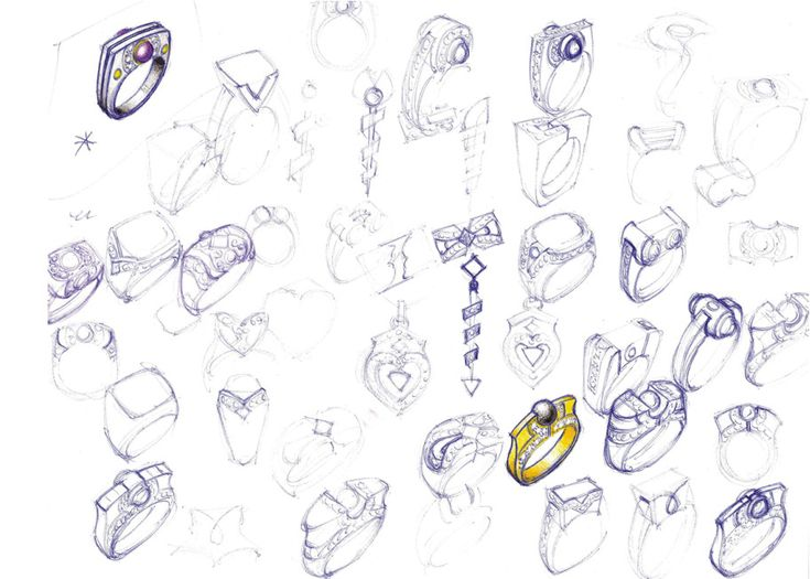 Jewelry design sketches | Jewelry concepts/drawings ...