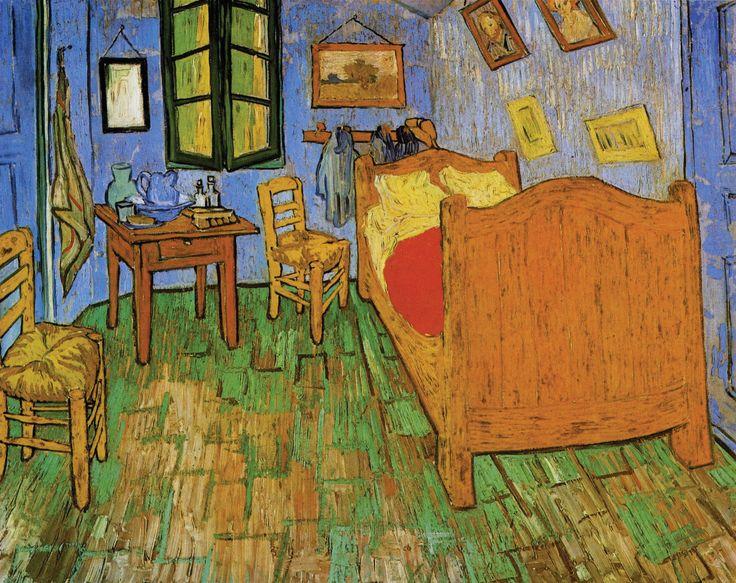 The Bedroom in Arles, Van Gogh, 1887