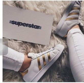 shoes gold white adidas style cute sneakers summer