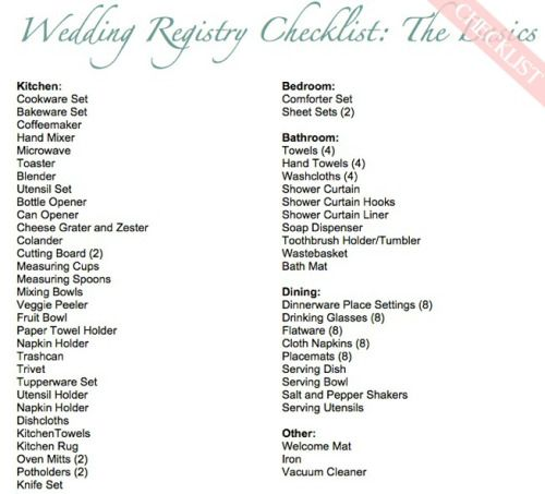 Worried About Missing Something Major This Wedding Registry Checklist From Wellregistered Will Help You Cover