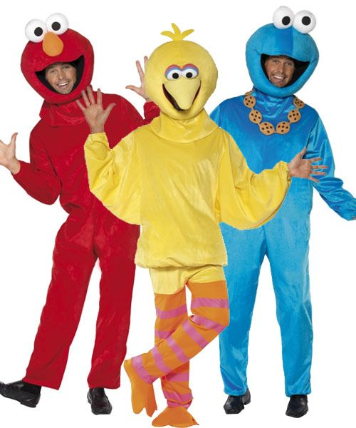 #Group Of #Sesame #Street #Costumes http://bryonytheatrical.co.uk/group-of-sesame-street-costumes-34945-p.asp
