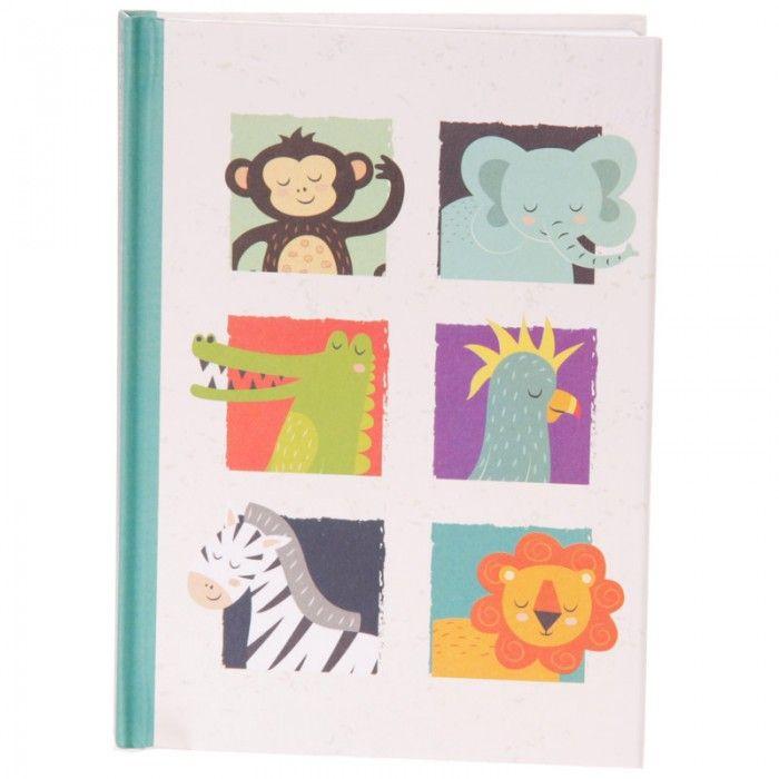 MEMO43 - Quaderno A6 con Copertina Rigida - Animali dello Zoo | Puckator IT #wildlife #zoo #puckator