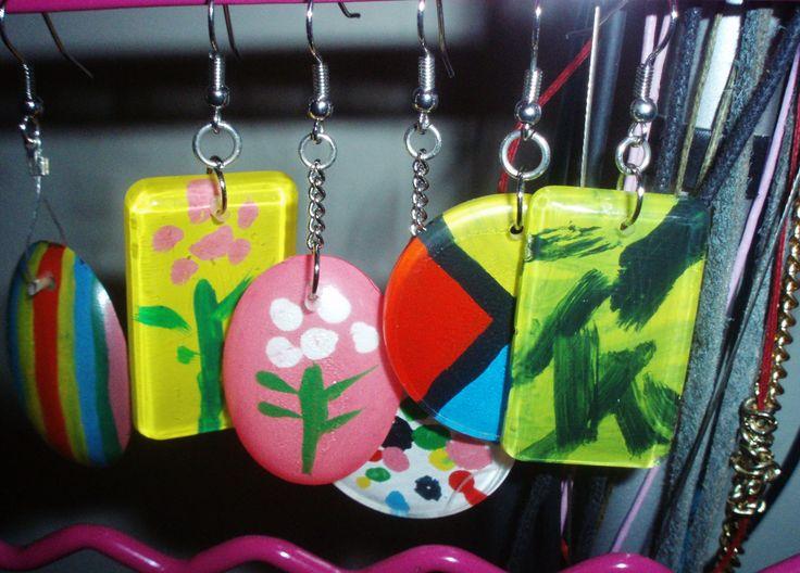 #earrings #handmade #artepovera #girly #unique