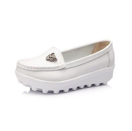 =>>Save onwomen genuine leather platform flat shoes 2014 new women's casual single white nurse shoes women flatswomen genuine leather platform flat shoes 2014 new women's casual single white nurse shoes women flatsbest recommended for you.Shop the Lowest Prices on...Cleck Hot Deals >>> http://id094678352.cloudns.ditchyourip.com/1770440364.html images