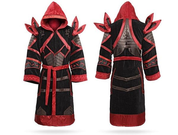 World Of Warcraft Draenei, Malefic And Bloodfang Costume Robes