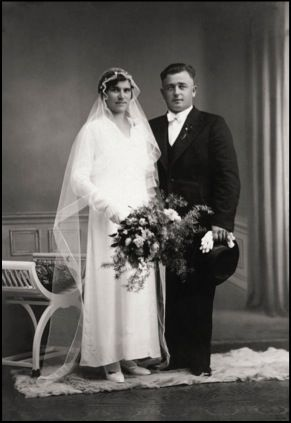 Jerome Verdier with his wife, 1934