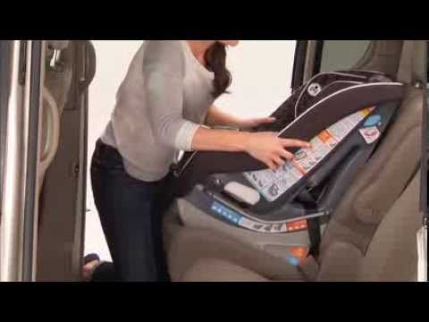 How To Install Rear Facing Car Seat With Seatbelt