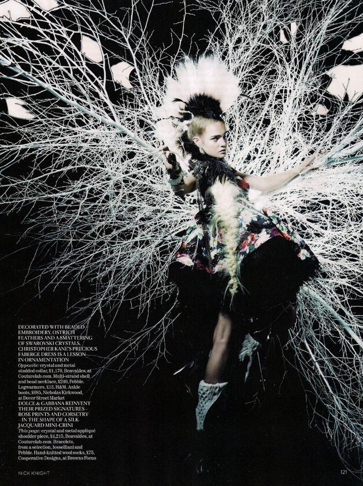 Nick Knight fashion photography