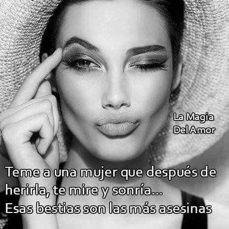 "1,255 Me gusta, 25 comentarios - * La Magia Del Amor * (@lamaga2016) en Instagram: ""Témele... #lamaga2016 #apasionada #frases"""
