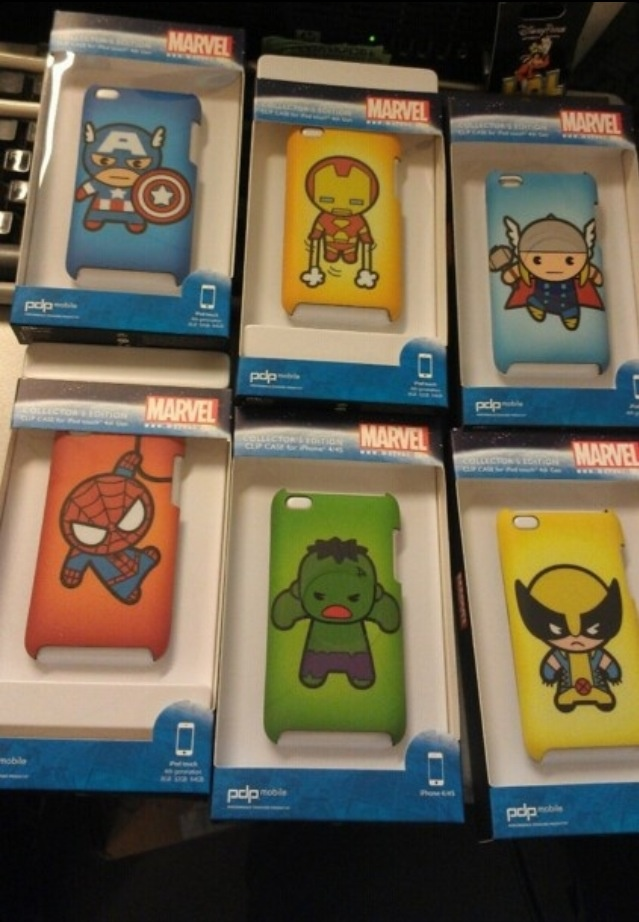 I want the Caption America one or The Spiderman one...
