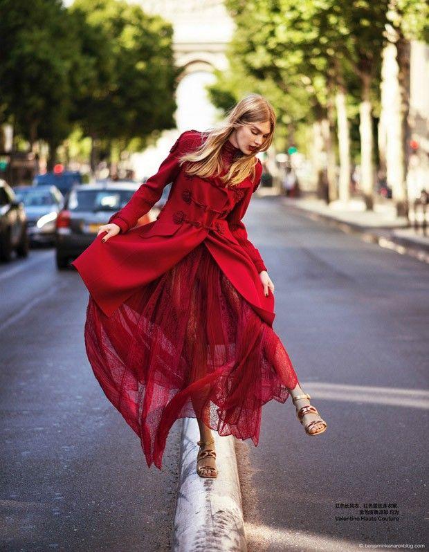 Фотосессия в Harper's Bazaar China (Интернет-журнал ETODAY)