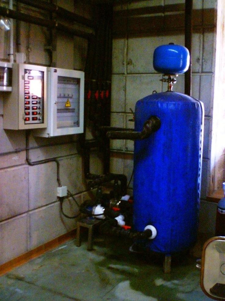 Depósito pulmón e instalación de bombeo en Bodegas Frontos (Tenerife)