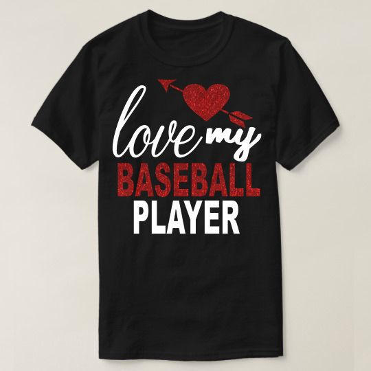 Love My Baseball Player Custom Shirts //Price: $15.50 & FREE Shipping //     #hashtag1