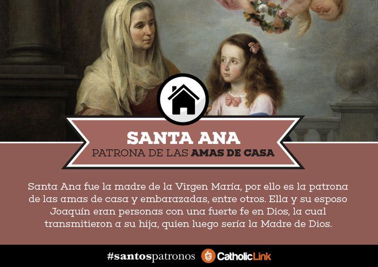 Una galería con un santo al que puedes acudir según la profesión o el trabajo que desempeñes.