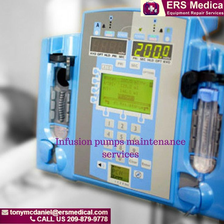 https://flic.kr/p/23iwe19 | Industry Certified Infusion Pumps Maintenance Services | ERS Medical is an industry certified infusion pumps maintenance services provider with accreditation as the Medical Support and Solutions Company.  We're also specialized in the repair of infusion pumps that are no longer supported by the original equipment manufacturer. At ERS Medical, we strive to provide unequaled customer service, exceptional quality, timely delivery and reasonable pricing.