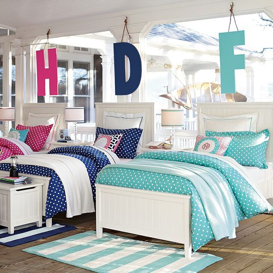 1000 images about pottery barn teen on pinterest for Bedroom designs for boy and girl sharing