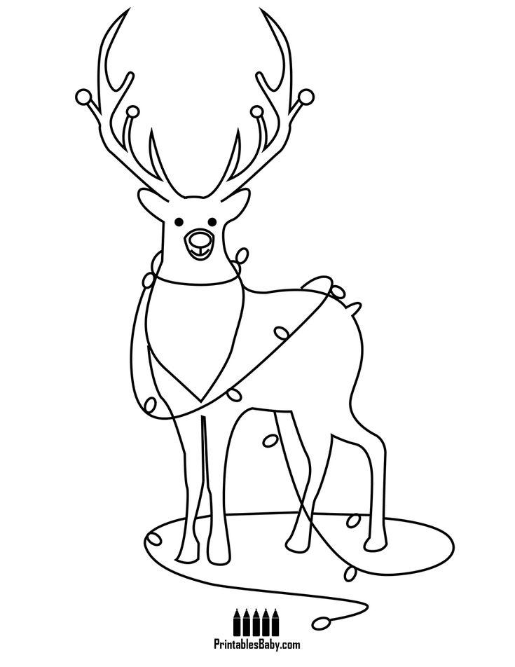Rudolph Reindeer - Printables Baby - Free Printable ...