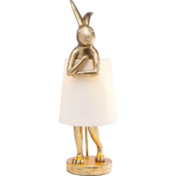 Table Lamp Animal Rabbit Gold Kare Design Gold Table Lamp Lamp Bunny Lamp