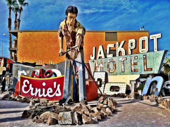 Neon Museum and Boneyard in Las Vegas
