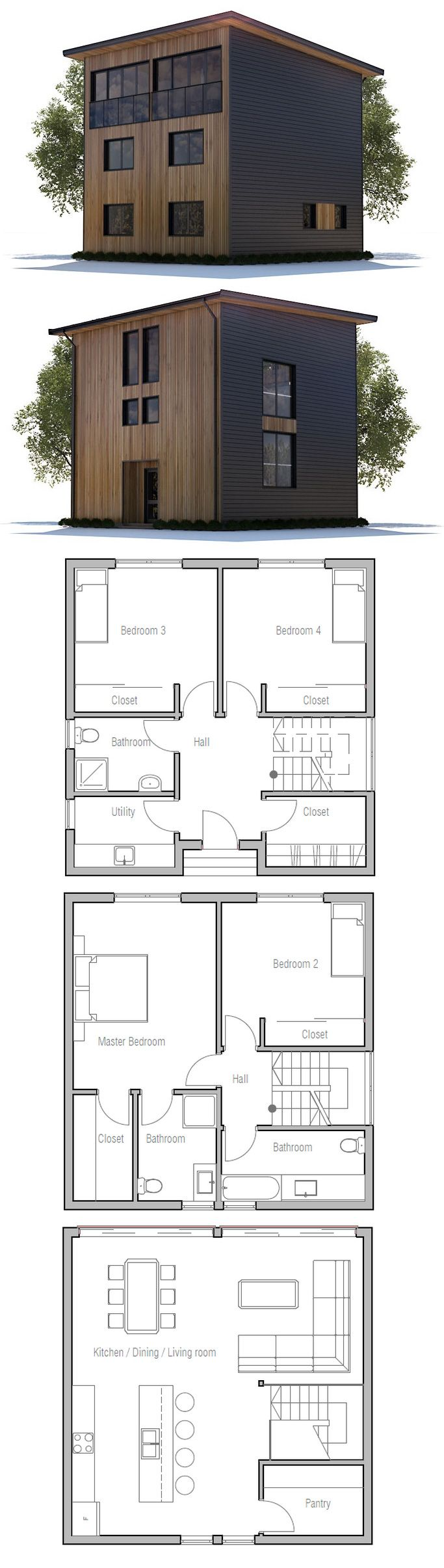 Container House - I would make the ground floor the master suite. The middle floor the living area and the top floor with 3 bedrooms and a bathroom - Who Else Wants Simple Step-By-Step Plans To Design And Build A Container Home From Scratch?