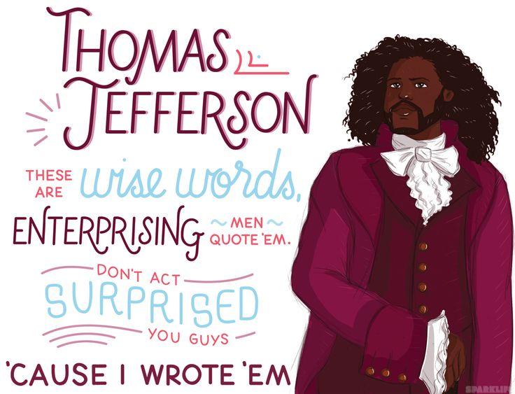 SparkLife » We Illustrated the 9 Best Hamilton Lyrics & They Are UH-MAZING