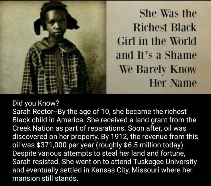 Richest black girl in history #USABlackHistory #black #Africandescent…