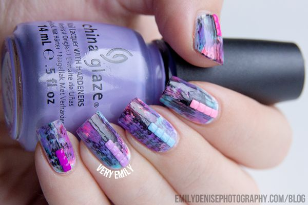 Very Emily » Studded Grunge Nails