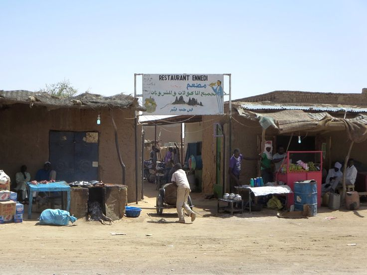 Facilities are basic in Kalait between Abeche and Fada in northeastern Chad, Central Africa. It's one of the few reliable stopovers for traffic headed north.