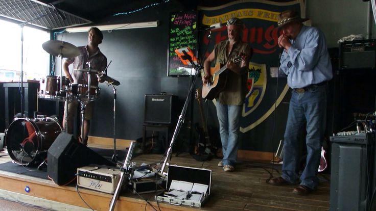 Ben Michelsen, Moondog with Ian Dann... Frings Whangarei Feb2015