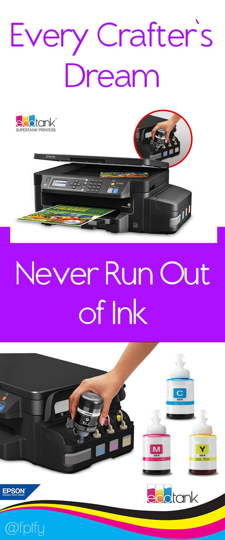 Fill up your own Ink tanks with the BEST PRINTER - EPSON ECOTANK! - Free Pretty Things For You