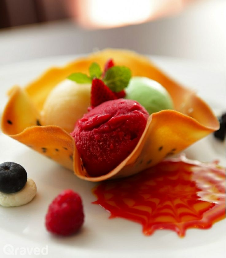Assorted Homemade Sorbet at Auroz