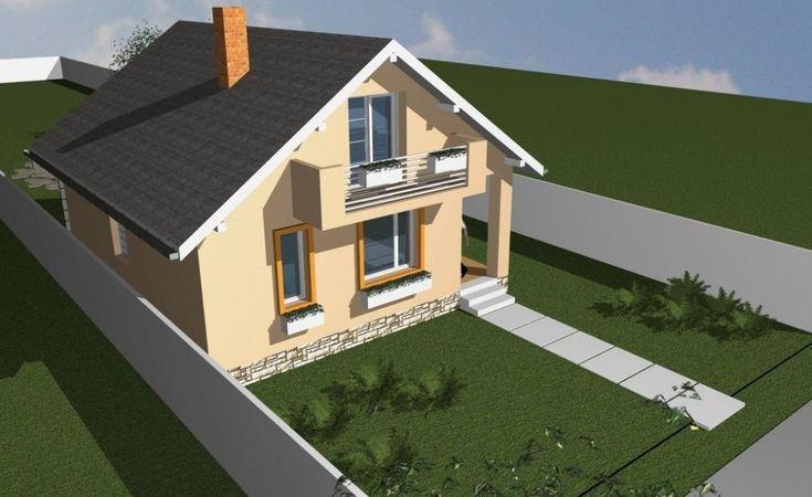 Case mici de 60 de mp - trei proiecte generoase