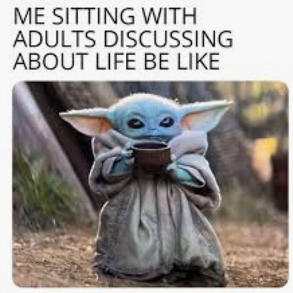 Baby Today Is Enough Funny Babies Star Wars Characters Yoda Yoda Meme