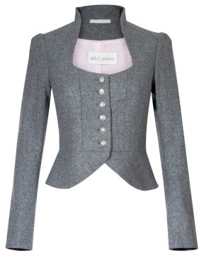 Dirndljacke in Grau Silk&Pearls Mehr