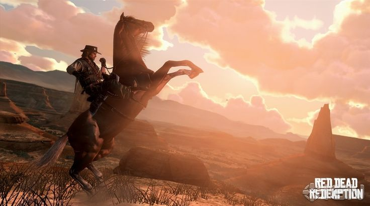 The county of New Austin from Red Dead Redemption | 36 Beautiful Landscapes That Prove That Video Games Are Art
